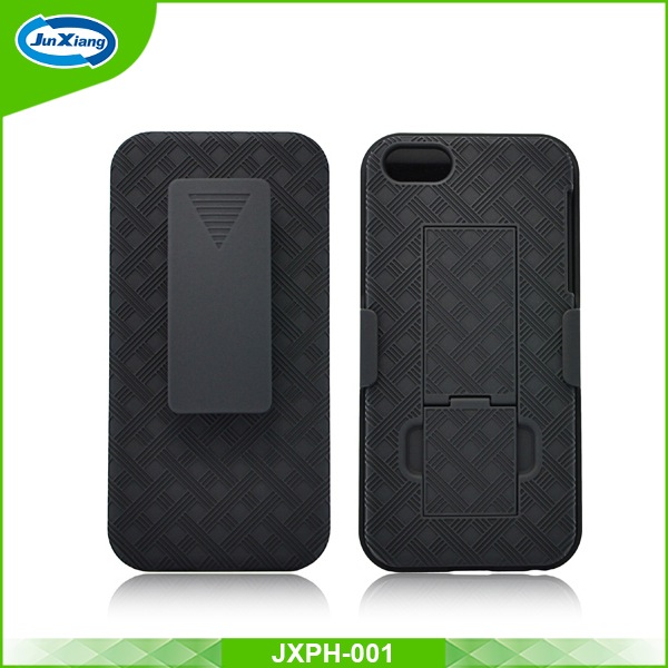 Premium quality armor case belt clip holster for iphone 5