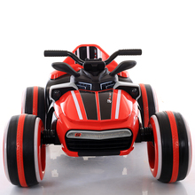 Factory direct sale children's science fiction four-wheel electric car