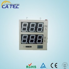 high accuracy PC networking electric monitor/LED display/humidity sensor