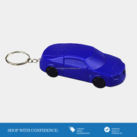 Mini Car Key Chains LED Flash light Key Ring