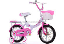 "Baby balance bicycle/children bicycle bike 12"" with training wheels"