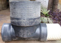 PE Rotational sewer , plastic road gully , OEM manhole