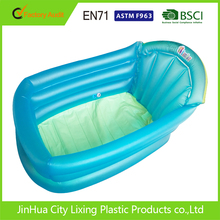 BSCI factory Care baby PVC inflatable portable baby bath tub