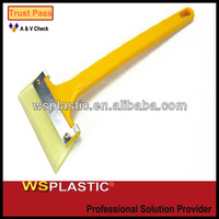 long handle scrape snow and ice scraper squeegee