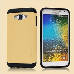 Mobile phone accessories factory in china waterproof Slim Armor Case 2 in 1for Samsung Galaxy E7 5.5 inch