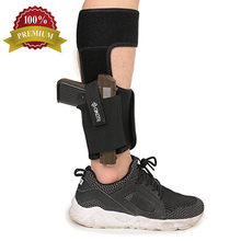 Tactical Concealed Carry Glock 17 19 Hand Gun Holster, Drop Leg Ankle Holster Revolver Glock 17