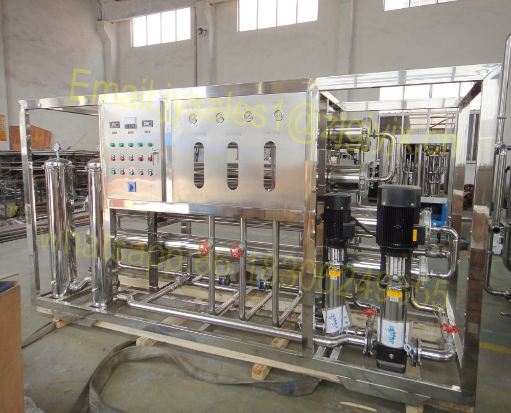 Reverse Osmosis Water Purification Systems For Beverage Processing Industry