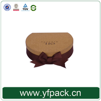 New Shape Brown Paper With Bowknot For Essence Oil Gift Packaging Box