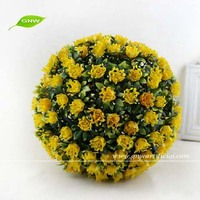 GP009-02 GNW decorative artificial rose flower balls as centerpiece for wedding stage decoration