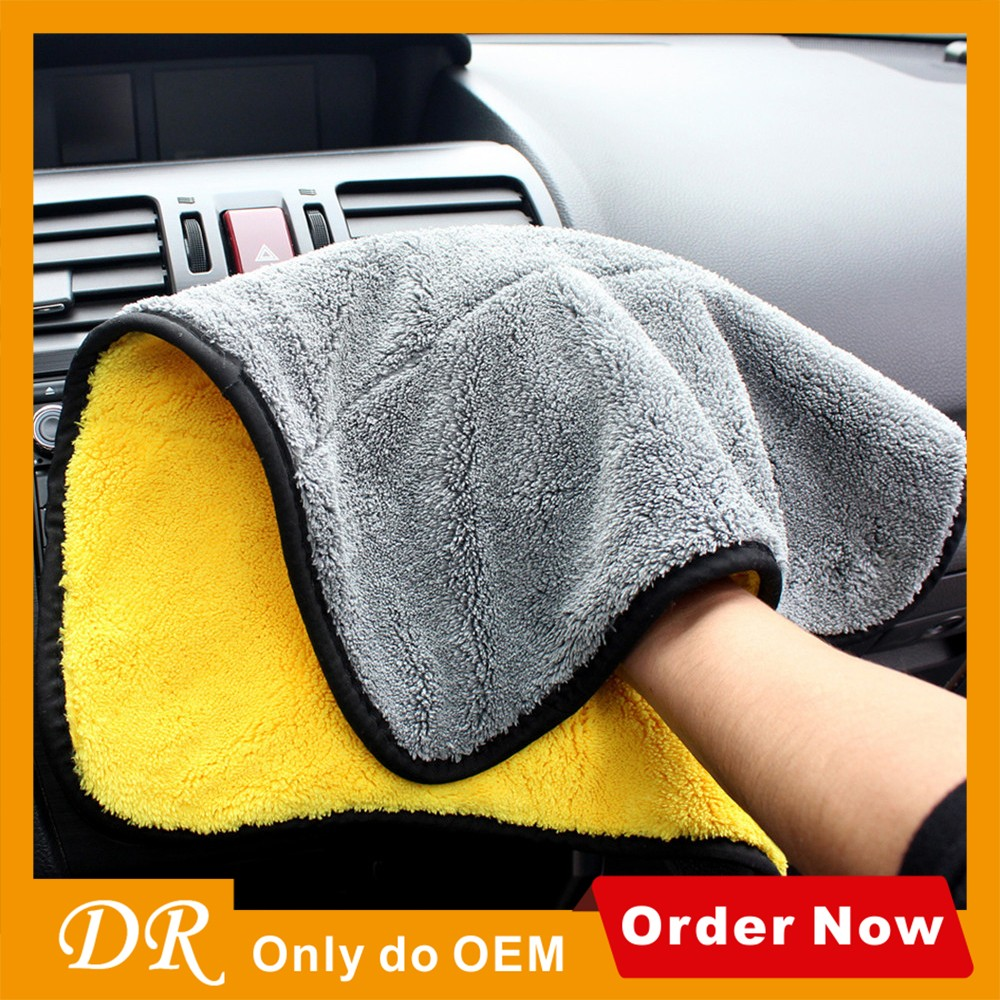 ultra fine quick drying absorbent microfiber towel 800gsm