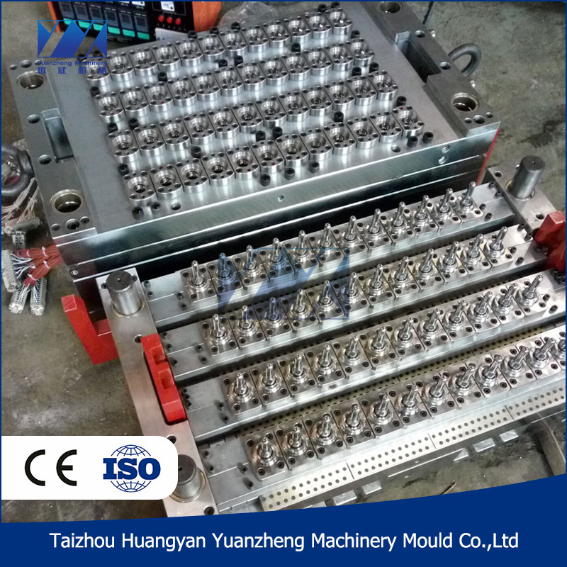 Taizhou Huangyan PET tube injection molding mould,PET preform mould