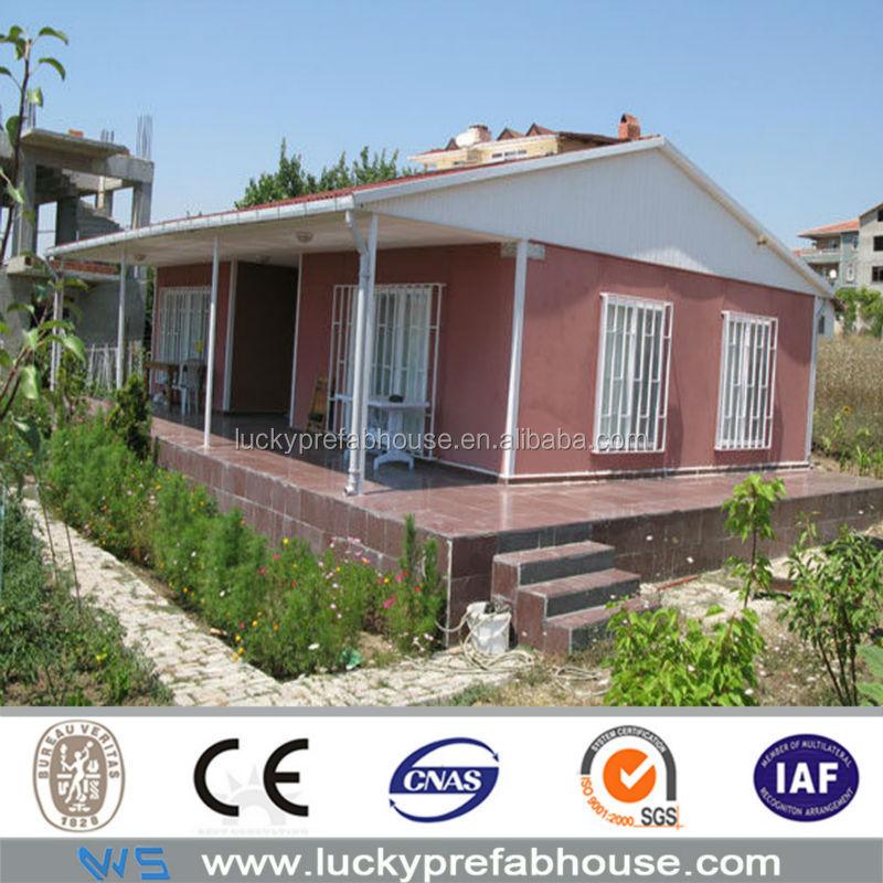 China prefab huizen kleine kit huizen moderne goedkope for Goedkope prefab woningen