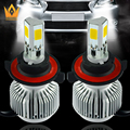 cheapest A336 all in one 3pcs cob 36w h13 car led headlight