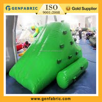 0.9mm PVC giant inflatable water iceberg