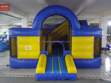GMIF small inflatable toys pvc balloon bounce house with slide for children
