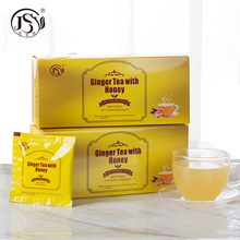 Relieve nausea from motion sickness instant honey ginger tea
