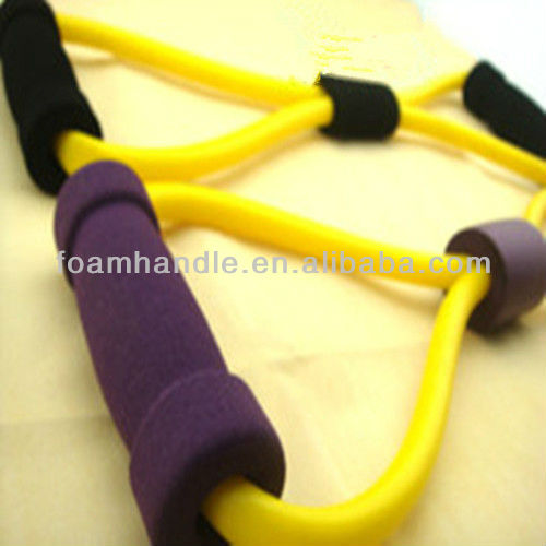 Equipment for chest fitness,rubber foaming chest fitness / healthing tool latex expander
