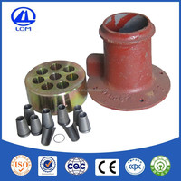 15.2mm round concrete post anchor used in bridge construction