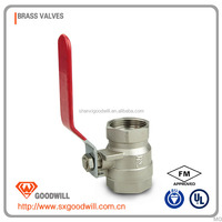 ball valve with iso 5211 pad