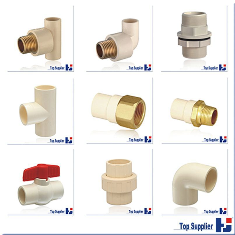 Pvc threaded popular plastic all size pipe fitting buy