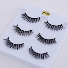 Wholesale 3D silk synthetic faux mink eyelashes