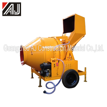 Hot Sale !!!350L Diesel Hydraulic Concrete Mixer with 10-14m3/h Productivity ,Guangzhou Supplier