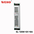 WEHO Ultra Thin AC power to DC 120W led driver 12v 10a power supply