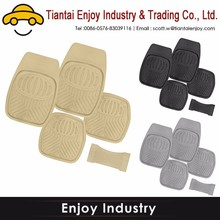 Embroidered Professional Auto Promotion Hot sale vinyl /pvc car mat