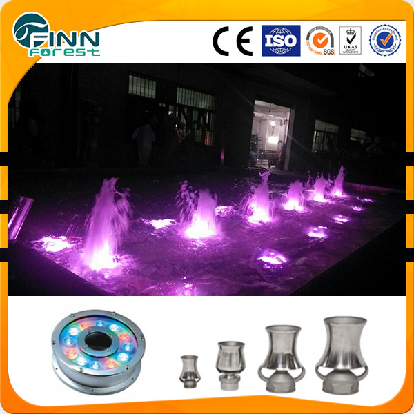 2 '' foam water jet musical fountain nozzle for public ponds decoration