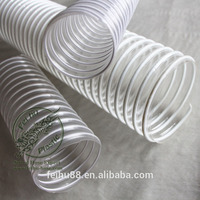 quality premium pvc water hose/black plastic water pipe roll/flexible corrugated plastic tubing