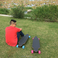 Wireless best SKYBOARD blank skateboard cruiser & uncut decks electric powered skateboard,new-style battery skate board for sale