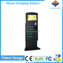 Wireless network remote factory direct sale high end cell phone charging locker public mobile phone charging APC-06B