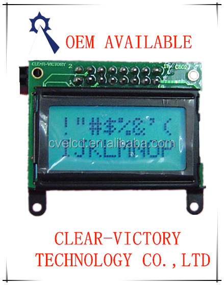 8 x 2 character lcd module for digital spoon scale digital measuring spoon digital ruler OEM AVAILABLE