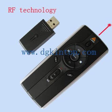 multimedia wireless presenter laser pointer with mouse