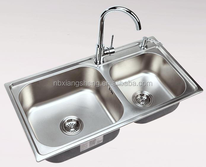 Polished kitchen sink with draining board high quality buy stainless steel sink kitchen sink - Kitchen sink draining board ...