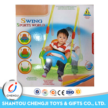 High quality plastic indoor sporting kids single swing
