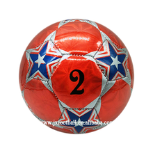 latest design football ball laser pvc football