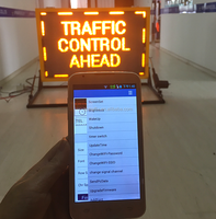 Amber Color Car Taxi Rooftop Advertising Message Signs Truck Mounted Can Bus LED Display Board