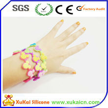 Giving Away Fancy Silicone Wrist Band For Youth