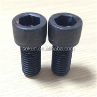 DIN912 hexagon socket head cap screw black color