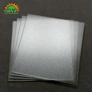 Ultra Clear low iron patterned photovoltaic 3.2mm 4mm tempered solar glass
