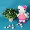 OEM service customized stuffed crochet cat toy