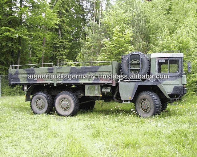 Second Hand Man Kat 1 6x6 Military trucks