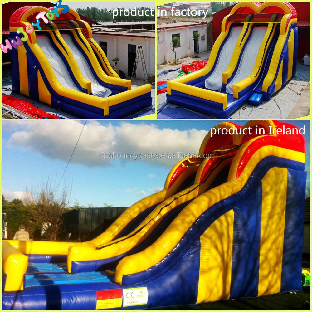 Kids inflatable bouncy castle water slide on sale