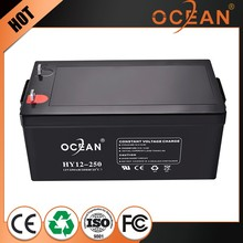 Cheap anti-corrosion 12V 250ah popular rechargeable battery