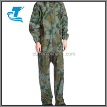 top quality breathable rainwear men military breathable rainsuit