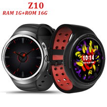 "1GB/16GB 1.39"" Bluetooth GPS WiFi Smartwatch Phone with 2.0 MP Camera smart watch z10"