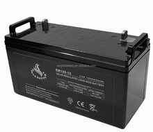 12V 120ah battery Maintenance Free Sealed Lead Acid Battery for Solar