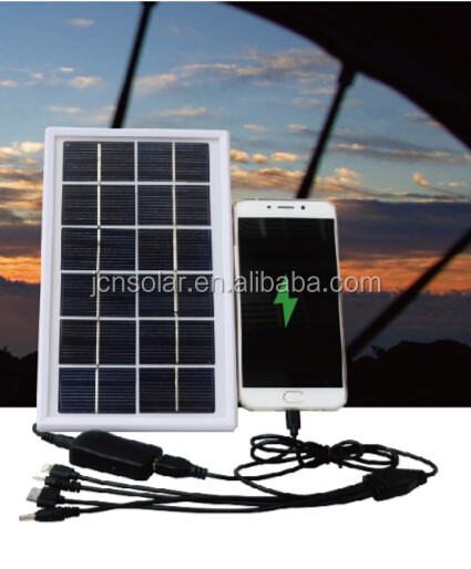 multi-function solar panel charger usb solar mobile charger for small home appliance