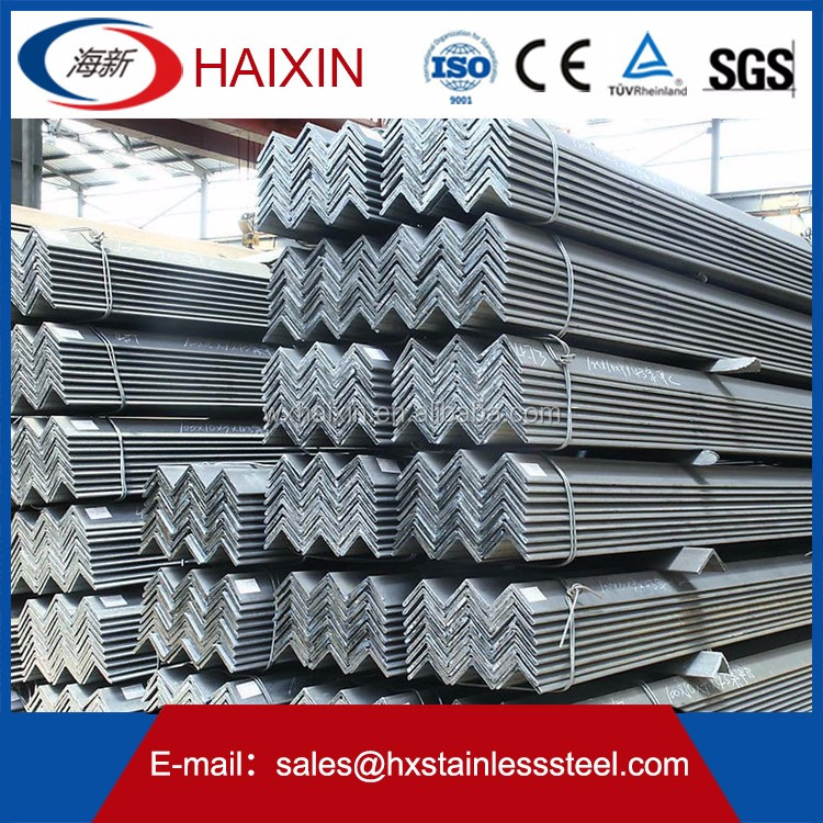 antique weight of stainless steel angle bar good quality